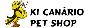 Logotipo Ki Canário Pet Shop